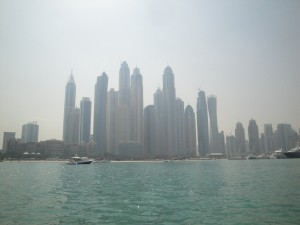 Dubai from the waterfront
